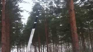 preview picture of video 'Palazzani aerial platform RAGNO XTJ32/C'