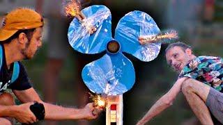 ✅Зажигаем Вентилятор ракету 🚀 Потрясающий эксперимент с настольным вентилятором