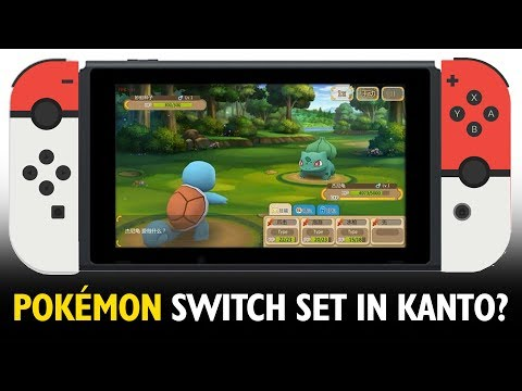 Could the Nintendo Switch Pokémon game be set in Kanto? Let's Talk!