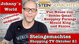 Viel Neues bei Steingemachtes-Shopping-TV für Oktober 2021