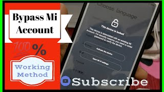 How To Bypass Locked Mi Account [ Hindi ]  by OnlyTalk