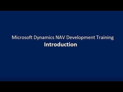 Microsoft Dynamics NAV Development Training | Introduction ...