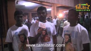 Chiyaan Vikram Fans Celebrated 'I' Movie Release