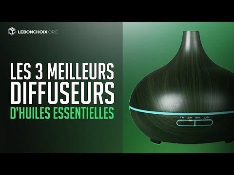 TOP 3 : MEILLEUR DIFFUSEUR D'HUILES ESSENTIELLES 2020 ( COMPARATIF & TEST )