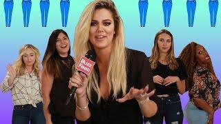 People Try Khloé Kardashians Jeans