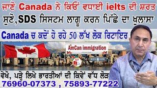 ਵੇਖੋ, Canada ਕਿਓਂ ਵਧਾ ਰਿਹੈ ielts ਦੀ ਜ਼ਰੂਰਤ I USA Immigration Policy Change I Student Direct Stream