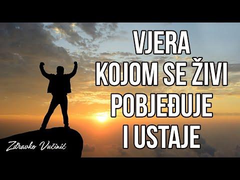 Zdravko Vučinić: Vjera kojom se živi, pobjeđuje i ustaje