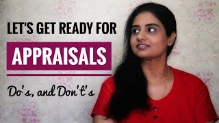 Are You Ready For Your Appraisal? | The Do's and Don't's of Appraisal | Work | Interviews