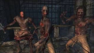 The Elder Scrolls V: Skyrim Creepy zombies MOD Special Edition Version