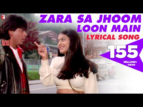Lyrical: Zara Sa Jhoom Loon Main Song with Lyrics   Dilwale Dulhania Le Jayenge   Anand Bakshi