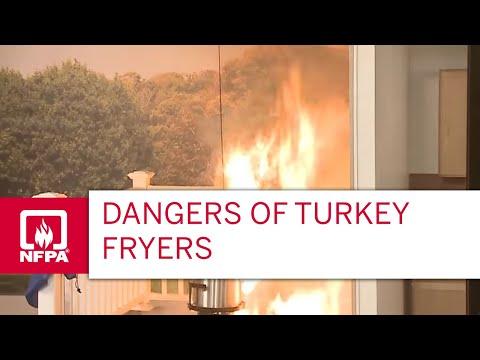 Dangers of Turkey Fryers