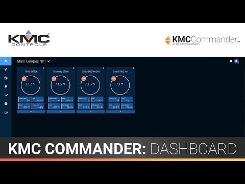KMC Commander: Dashboard & Custom Cards