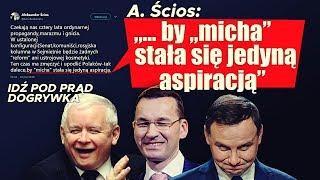 """A. Ścios: """"…by """"micha"""" stała się jedyną aspiracją"""" SERWIS INFORMACYJNY"""