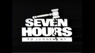 Seven Hours to Judgment (1988) Video