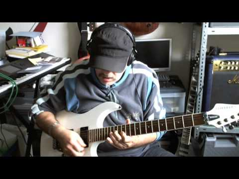 Progressive Rock Live Guitarplaying by JoJo Wiese
