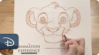 How-To Draw: Simba From 'The Lion King'