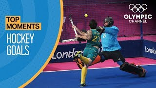 Top 10 Olympic Hockey Goals | Top Moments