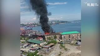 VL.ru - пожар на Крыгина Владивосток