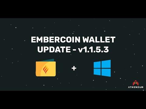 Windows OS - EmberCoin Wallet Update Instructions Tutorial
