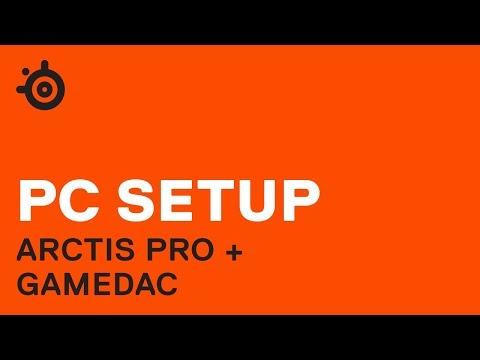 Игровая гарнитура STEELSERIES Arctis Pro + GameDAC 61453