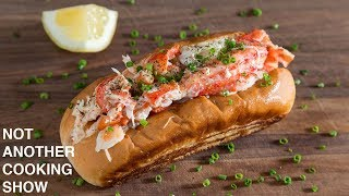 quick and easy ALASKAN KING CRAB ROLLS