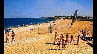В Крыму на пляже лето - сексапильные вожатые детвора море и солнце в Любимовке :)