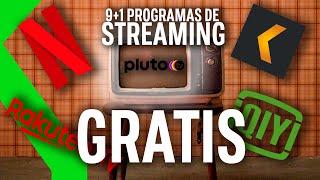 9+1 ALTERNATIVAS GRATIS A NETFLIX Las mejores plataformas para ver pelis y series online SIN PAGAR