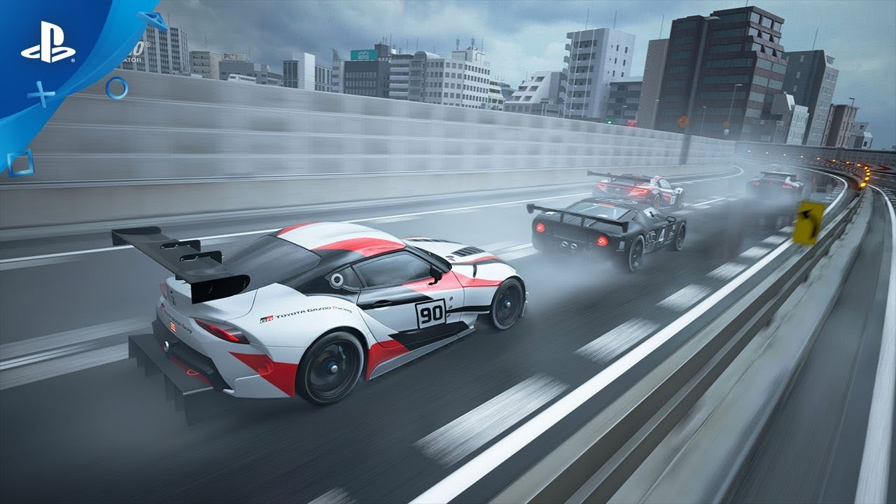 GT Sport Patch 1.45 Adds 4 New Cars, Rain Weather Conditions to Tokyo Expressway, Out Now