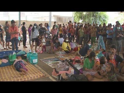 Lemery, Batangas housed refugees before forced evacuations