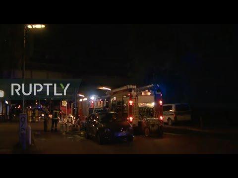 LIVE: Multiple injured following train fire in Berlin