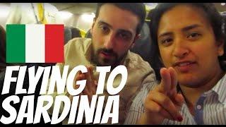 FLYING TO SARDINIA!