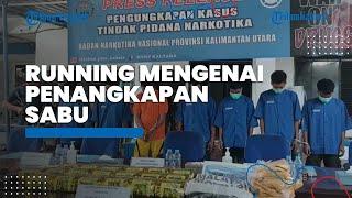 Running Pengungkapan Sabu 20 Kg Sabu Dibungkus Dalam Karung, Rencananya akan Dibawa ke Tolitoli