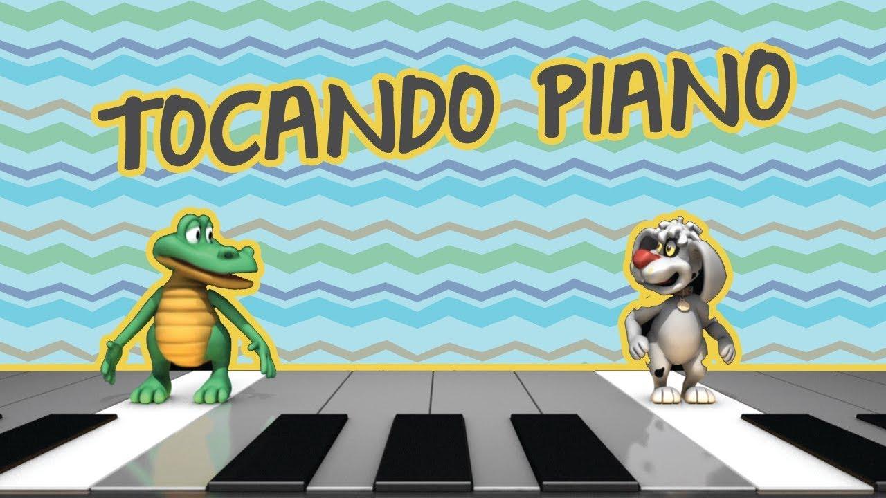 TOCANDO PIANO  | BEBÊ MAIS CANTIGAS