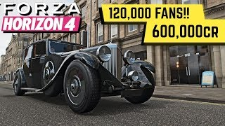 Guide to *EASY* MONEY, FANS and LEVEL UP in FORZA HORIZON 4!!