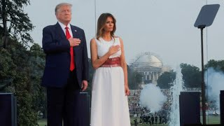 video: Trump repeats vow to defeat 'radical Left' in July Fourth speech