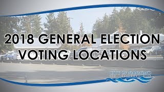2018 General Election Voting Locations