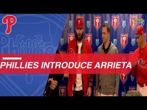 Phillies introduce Jake Arrieta