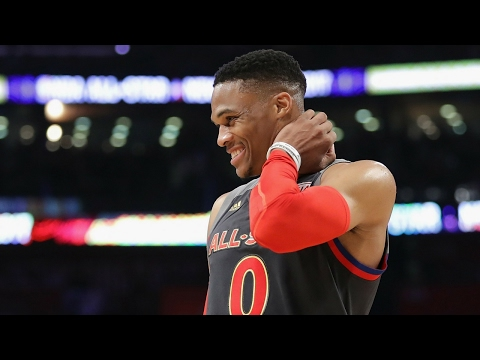 Russell Westbrook 41 Points in Under 20 Minutes! | 2017 NBA All-Star Game | 02.19.17