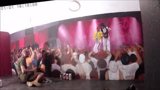A tribute to Queen - Freddie Mercury and Brian May