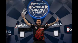 """Jonny Clayton on winning the World Grand Prix: """"Darts is my hobby and I love every second of it"""""""