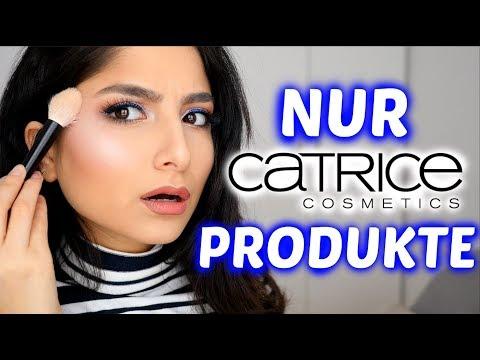Ganzes Make-up NUR mit CATRICE Produkten!! Krasses Ergebnis