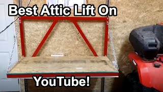 Garage Attic Lift Construction