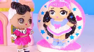 Куклы Лол Сюрприз! Банкомат Лол и поездка к Барби - Lol Surprise мультик! Видео для детей