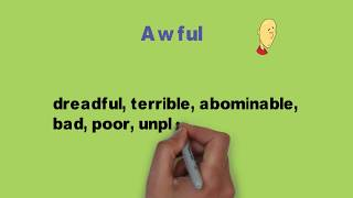 best 10 word vocabulary with  synonyms