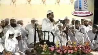 Shaikh Hanif Luharvi(d.b) in Jamia Faizanul quran - Ahmedabad - part 2