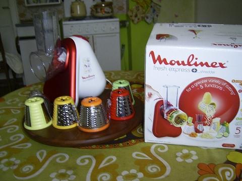 Test -Funktionsprüfung Zerkleinerer Moulinex Fresh Express,food chopper