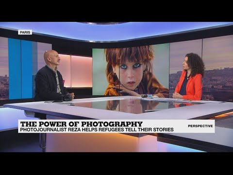 Photojournalist Reza: 'Children are now the best photographers'