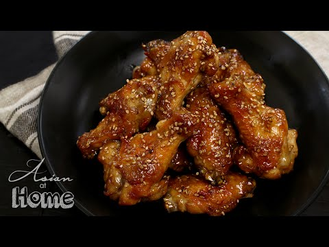 Asian at Home |  Sesame Chicken Wings