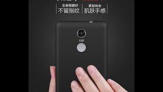 Чехол на Xiaomi Redmi Note 3. Силиконовый. Матовый.