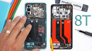 Oneplus 8T Teardown - Are there really TWO batteries?